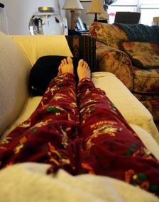 sairaana sohvalla